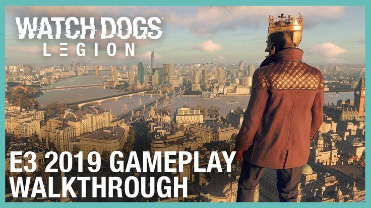 Watch Canine: Legion: E3 2019 Gameplay Walkthrough   Ubisoft