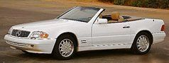 31st car:  1994 Mercedes Benz SL500.  One of my long-time dream drivers, I bought this low-mileage pre-owned car from a private Texas rancher.  It had a surging idle that couldn't be diagnosed or fixed, so I traded it before it turned 20,000 miles.