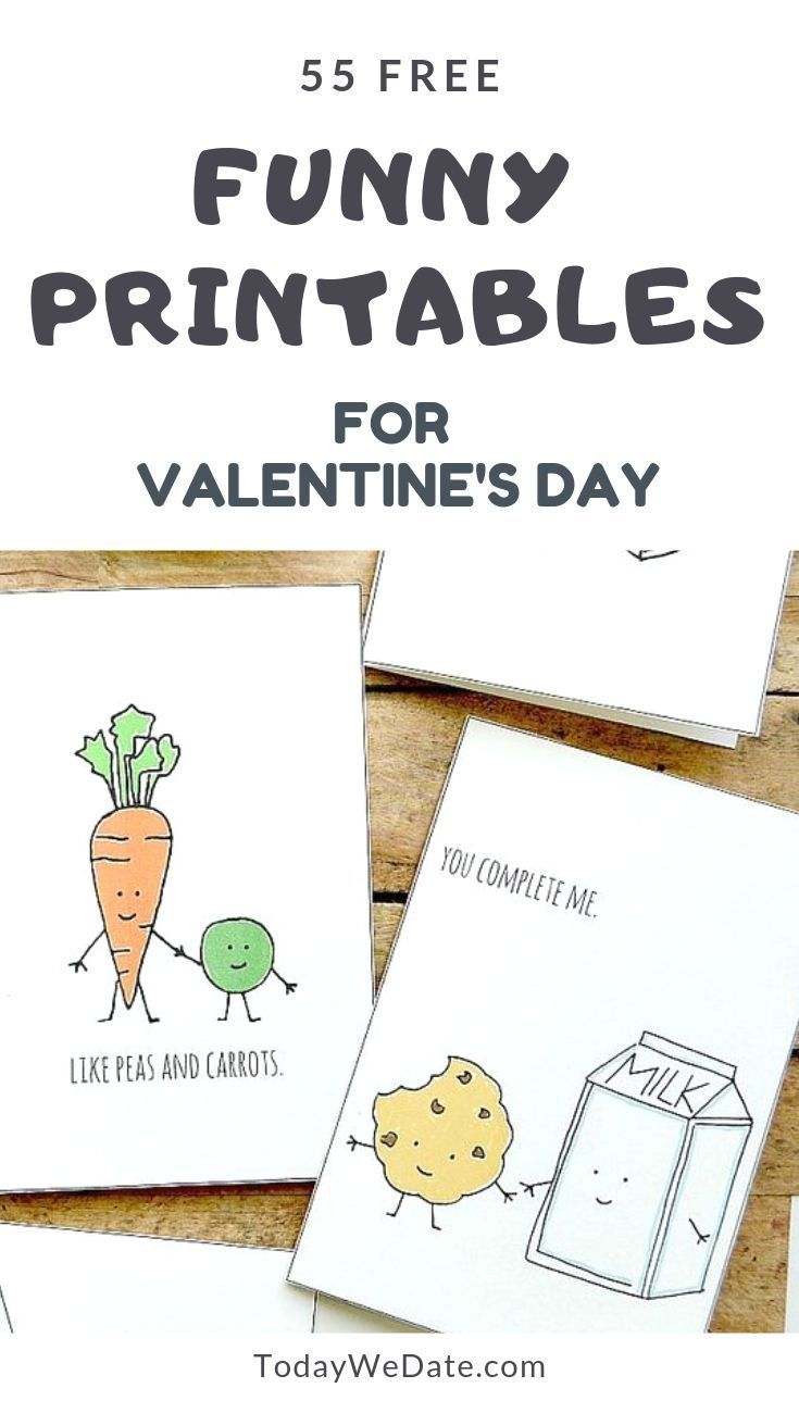 graphic regarding Printable Love Card known as 55 Amusing Valentines Working day Printables In direction of Ponder Your