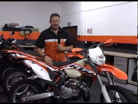 Mark Roach of KTM South Africa, gives a brief breakdown of updates to the 2014 KTM 300 XC-W