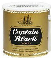 Captain Black Pipe Tobacco Gold - 12 oz. Can
