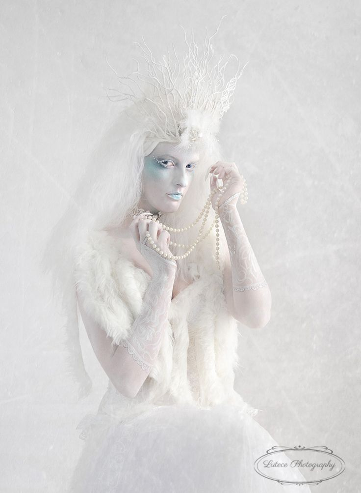 An icy look from the beautiful Snow Queen.  http://www.lutecephotography.co.nz/site/#/home/