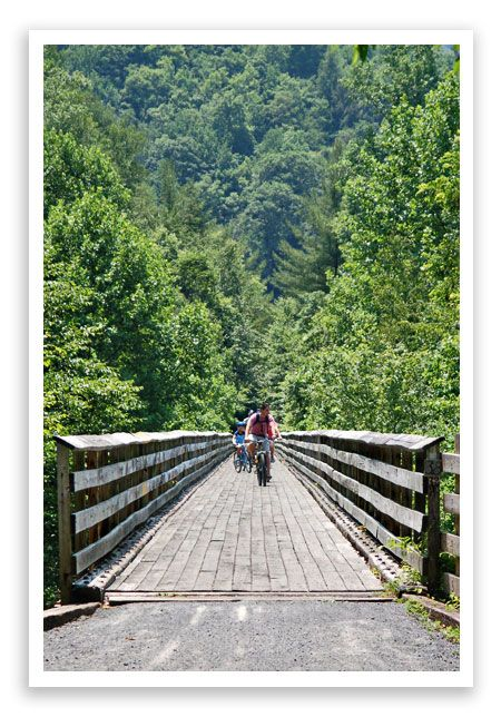 The Virginia Creeper Trail Is An Experience I Would Greatly Recommend Adventure Tourism Pinterest Destinations And