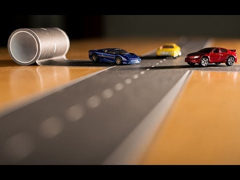 Where was this when I was a kid?! Play Tape Road on The Grommet