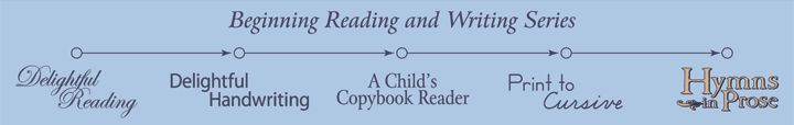 Simply Charlotte Mason Readers and Copywork Guides