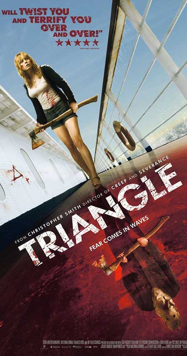Directed By Christopher Smith With Melissa George Joshua Mcivor Jack Taylor Michael Dorman A Group The Triangle Movie Horror Movies Scariest Good Movies