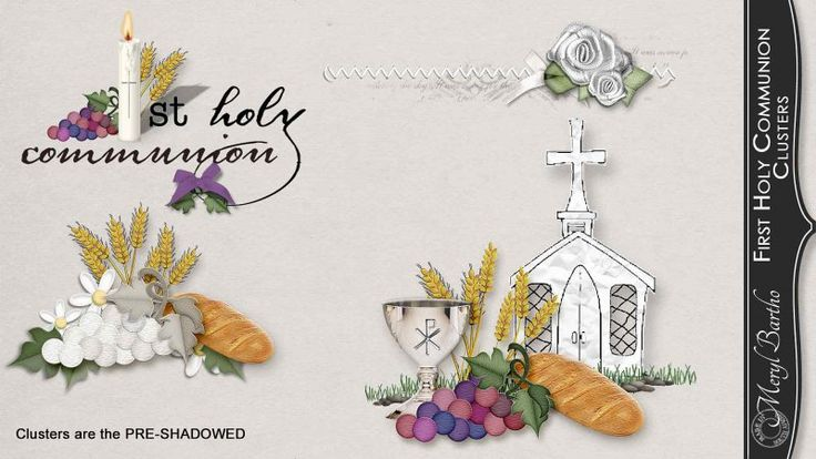 First Holy Communion Clusters