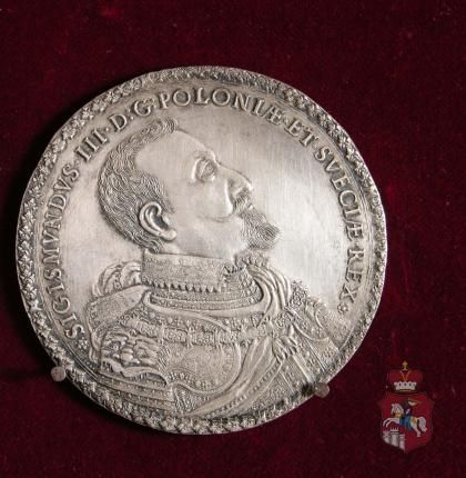 Medal Zygmunta III -1621| FUNDACJA XX. CZARTORYSKICH