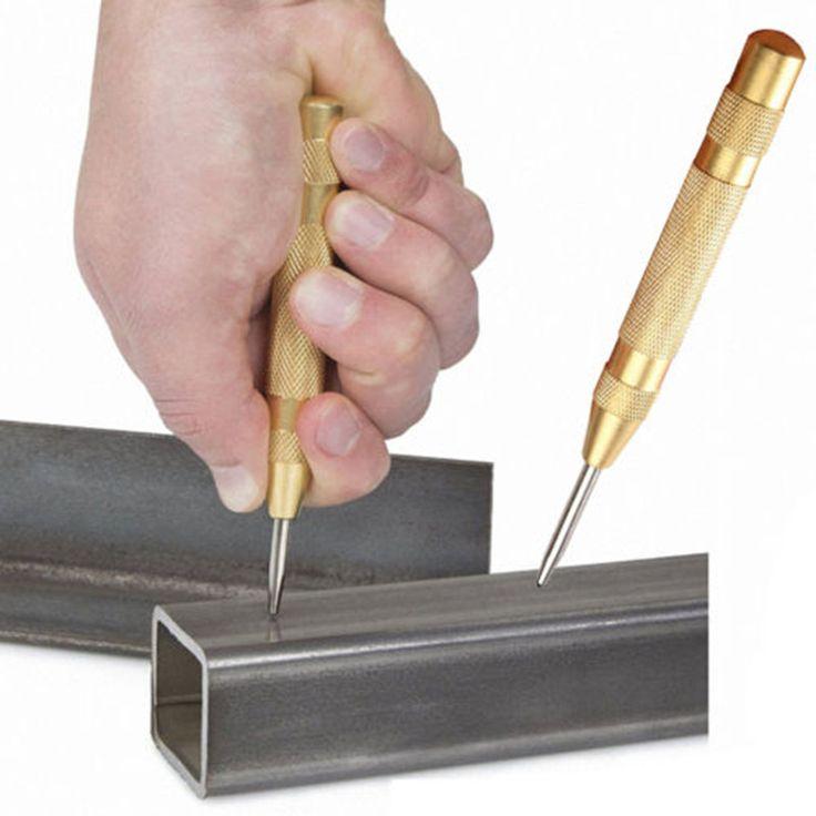 5 Inch Automatische Center Pin Punch Lente Geladen Markering Uitgangspunt Gaten Tool Hoge Snelheid Staal Automatische Centre Punch/Dot Punch