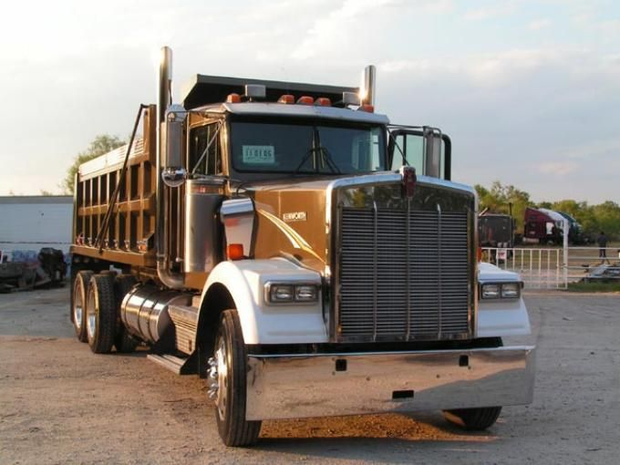 1996 Kenworth W900 Dump Trucks Dump Trucks For Sale Trucks