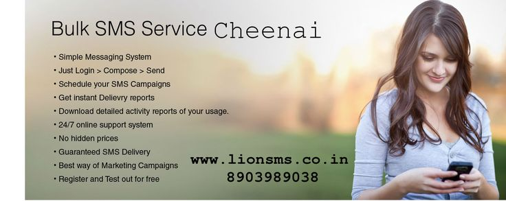 Bulk SMS Chennai. We are the best and affordable bulk sms service provider in Chennai.Our providing bulk SMS,promotional sms provider for company in Chennai. www.lionsms.co.in