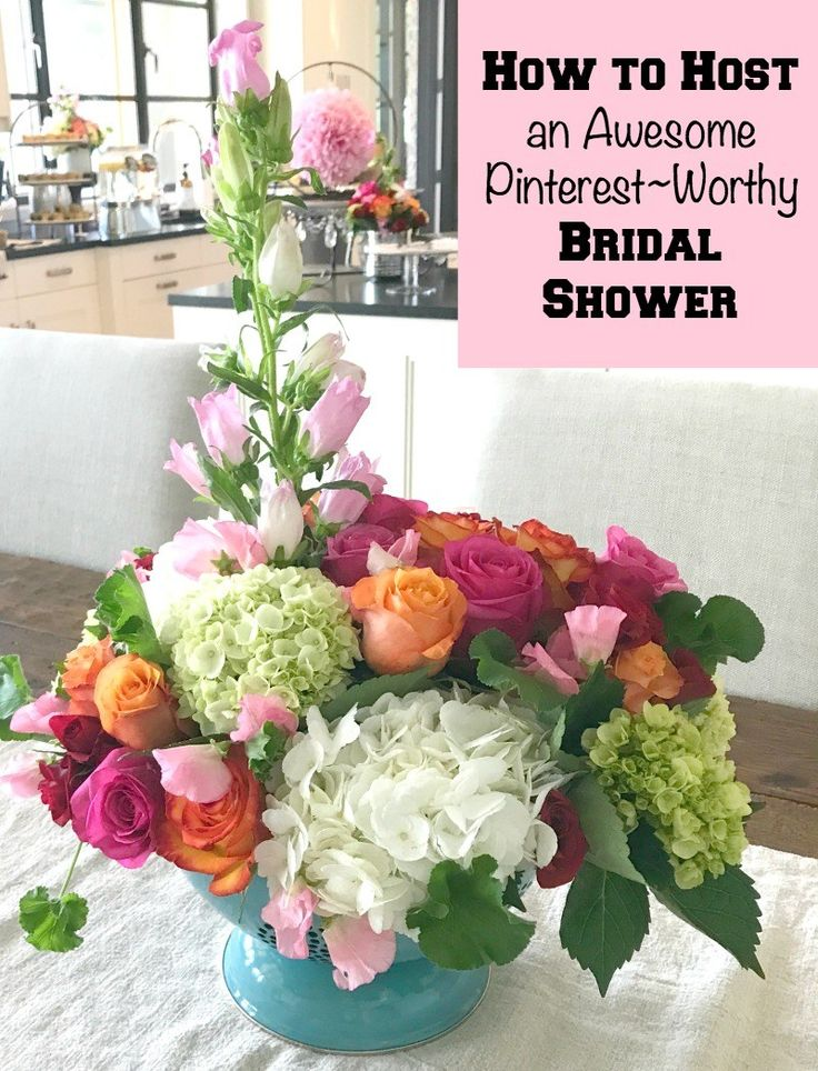 How to Host a Bridal Shower that is Pinterest~Worthy