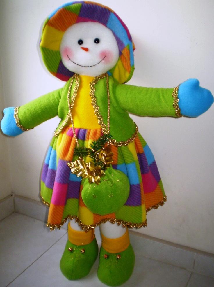 muñeca nieve