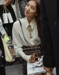 Park Shin-hye   at Chanel Spring Summer 2018 Collection