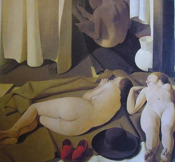 Felice Casorati, Dreaming of Pomegranates, 1913  Felice Casorati (1883-1963) was born in Novara and showed an early interest in music ...