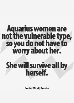 aquarius women quotes - Google Search