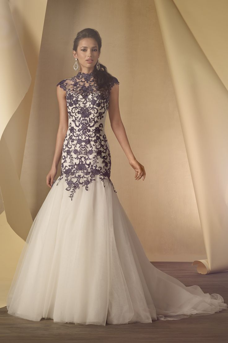 Alfred angelo on pinterest for Alfred angelo black and white wedding dress
