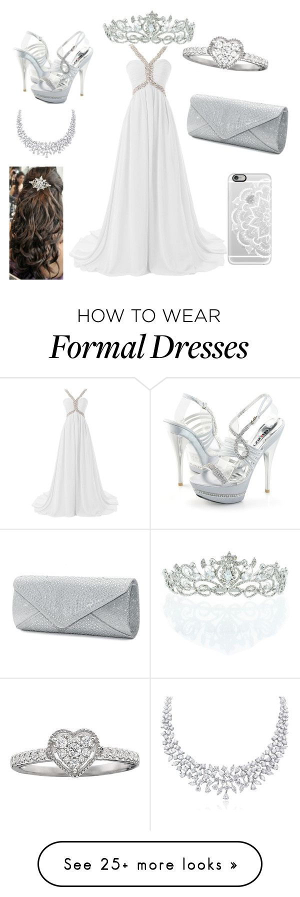 """""""winter ball"""" by a-hidden-secret on Polyvore featuring Mascara, Casetify and Kate Marie"""