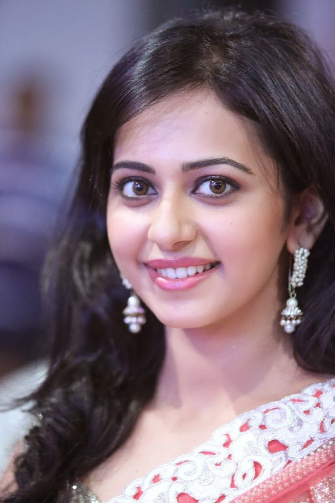 9 best women jewelry images on pinterest actress rakul preet singh in peach netted saree altavistaventures Image collections