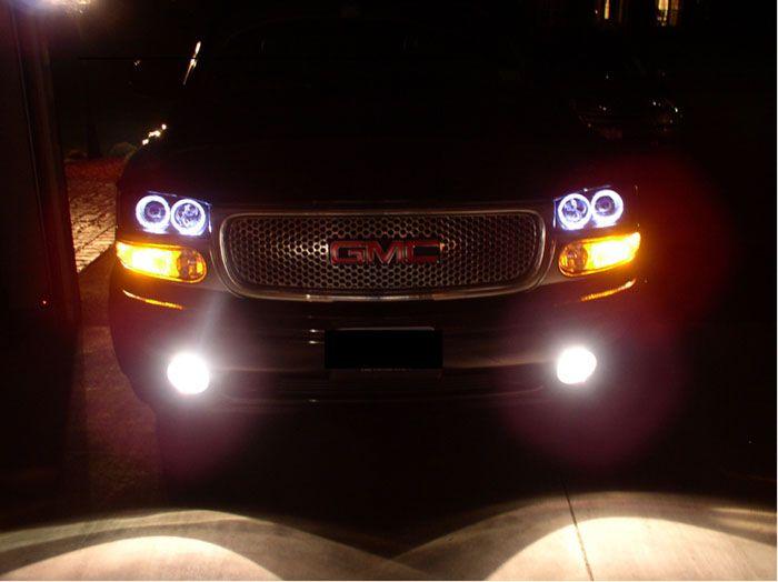 customized 2006 yukon denali | Custom Denali Headlights ...