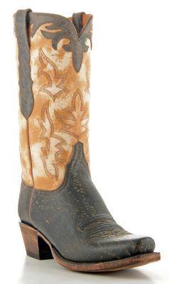 Mens Lucchese Classics Giraffe Boots Tree Bark #Gc9507
