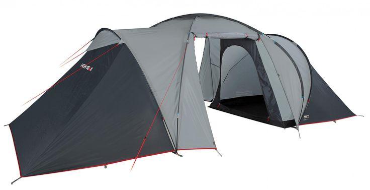 99,94€ 7,7 kg 4-Pers. Zelt High Peak Como 4, grau/rot von High Peak bei Campingshop Wagner Campingzubehör