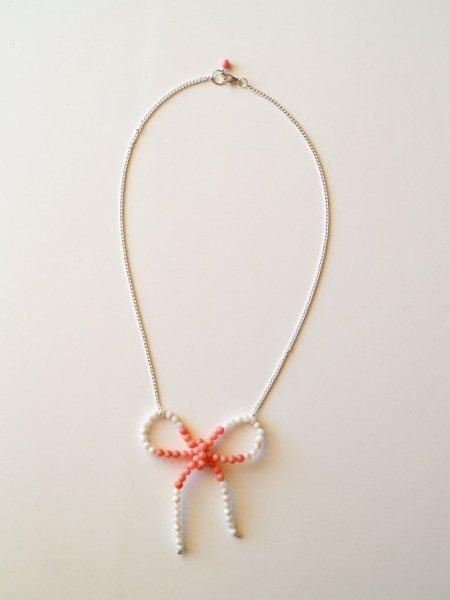 : Jewelry Tutorials, Diy Anthropology, Ribbons Bows, Bows Ties, Diy Necklaces, Anthropology Diy Jewelry, Diy Tutorials, Anthropology Necklaces, Bows Necklaces