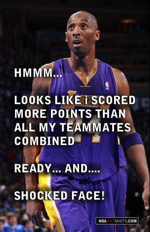 Kobe Bryant Memes Funny Humor Pics