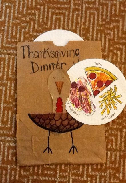 The bag lady and thanksgiving dinner