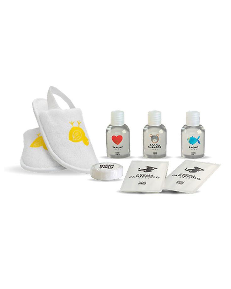 Linea Mamma Baby   Linea Cortesia, Pochette Trasparente con una Selezione di Prodotti – Provali tutti! Crema Per Il Cambio