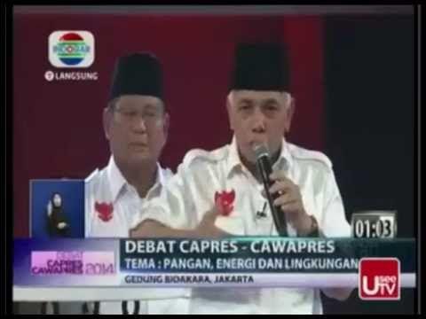 Final Debat Capres RI, 5 Juli 2014 -  Prabowo Hatta VS Jokowi JK ( Segme...