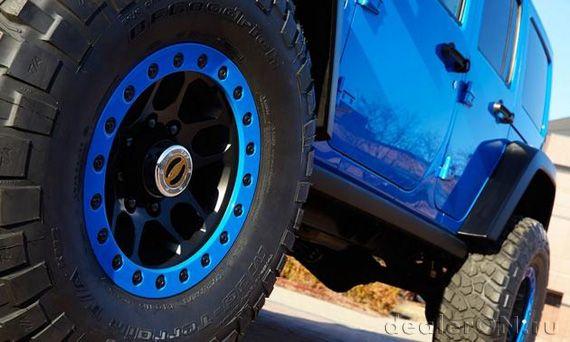 Концепт Джип Вранглер Максимум Перформанс / Jeep Wrangler Maximum Performance