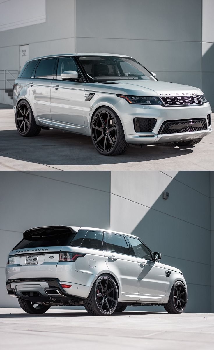 White Range Rover Sport With Stylish Blcked Out Accents Range Rover White Range Rover Sport Range Rover Supercharged