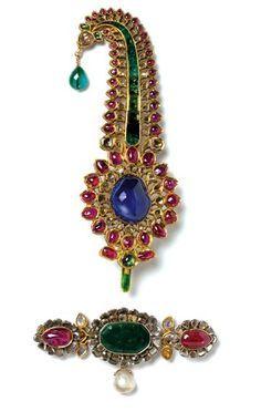 Maharajas Turban Ornament, India