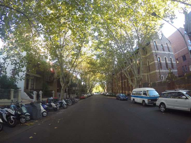 Victoria St, Potts Point Sydney AUSTRALIA looking north