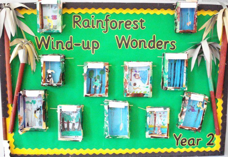 Classroom Ideas Ks1 ~ Rainforest art ks google search primary topic ideas