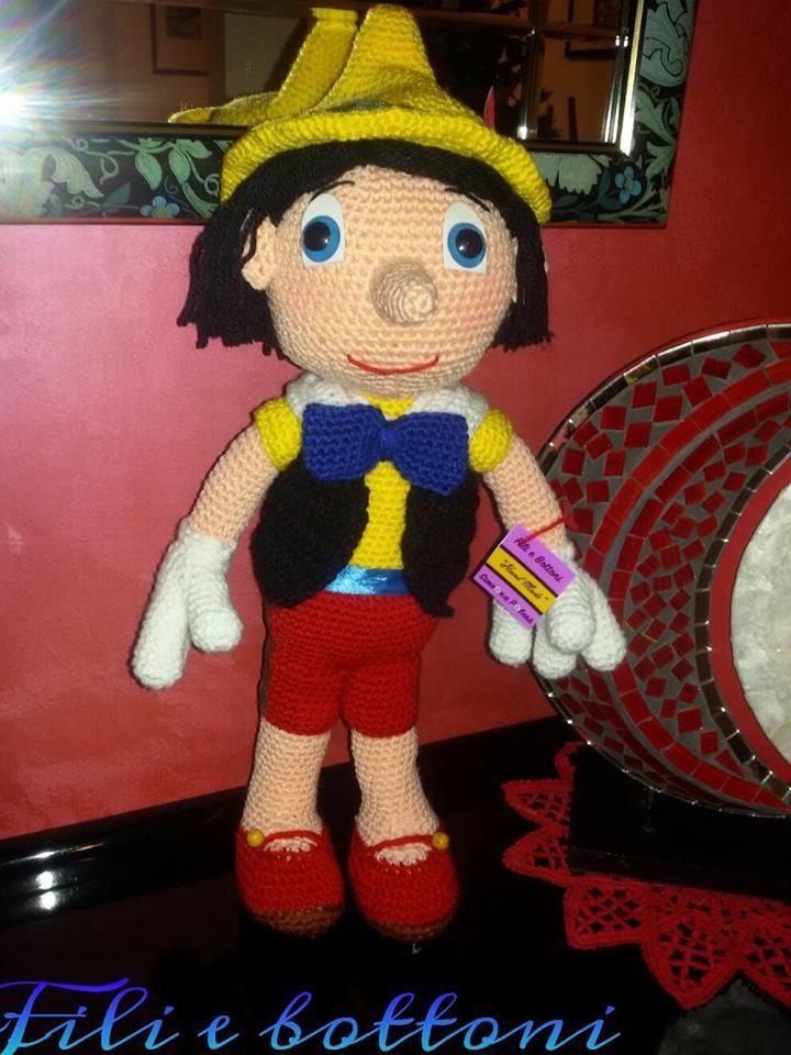 Pinocchio amigurumi