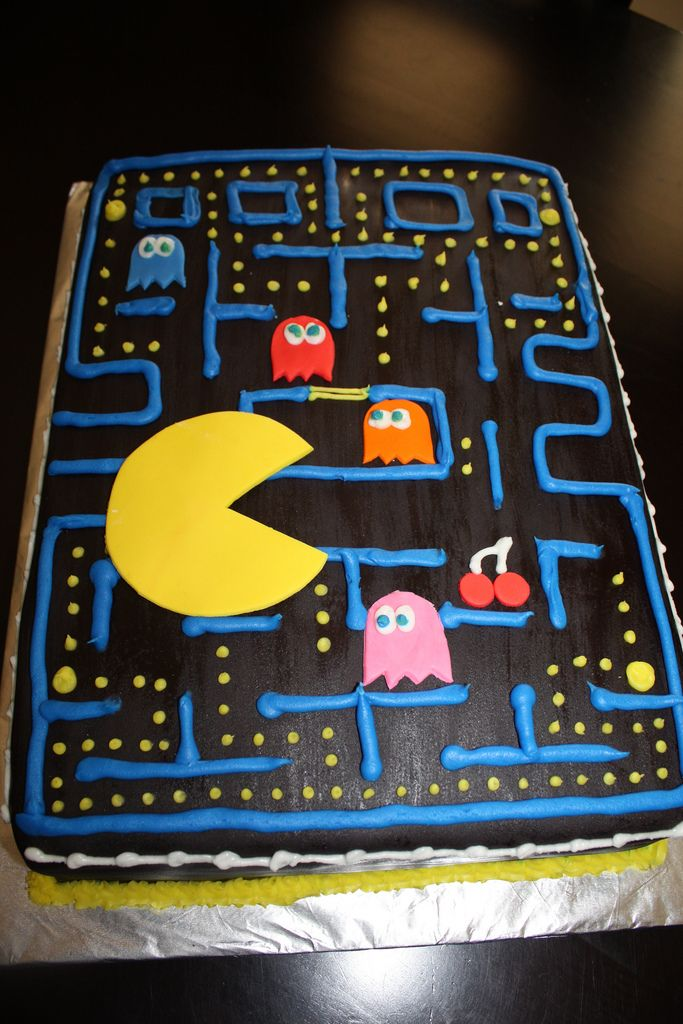 32 Best Video Game Cakes And Treats Images On Pinterest Birthday