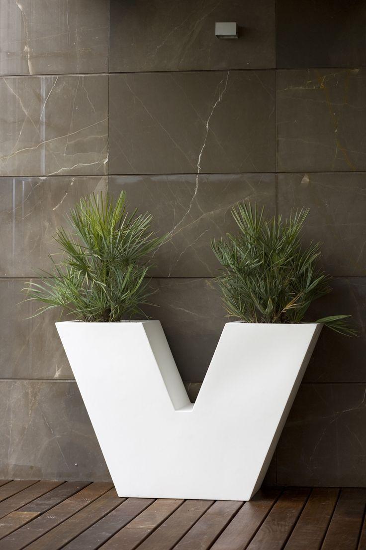 best vondom outdoordecoration images on pinterest  outdoor  - vondom aigua uve design plant pot · contemporary plantersplantcanbalconyexteriorstylishlandscapingpots