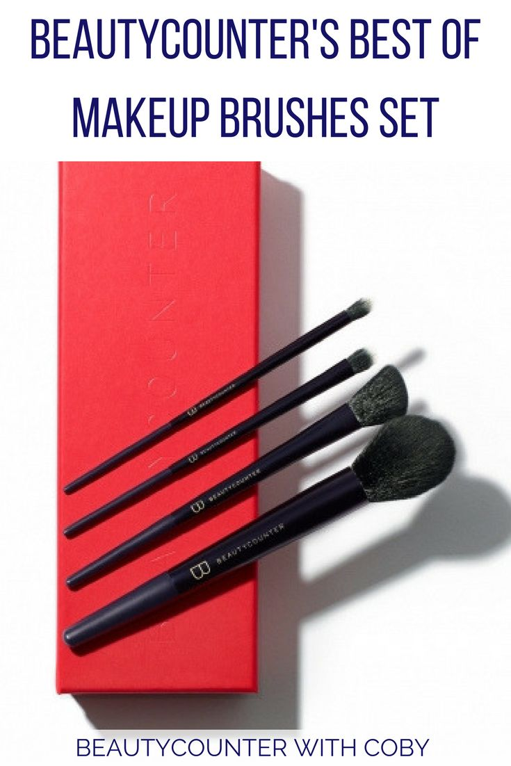 12 Days of Christmas: Beautycounter's Best Makeup Brushes Set | You have the blushes, bronzers, and shadows (oh my!). But what about the tools? These makeup brushes from Beautycounter should be on your list! Click here to learn more! Makeup Brushes | Makeup Brushes Set | Professional Makeup Brushes | Beautycounter Makeup Brushes