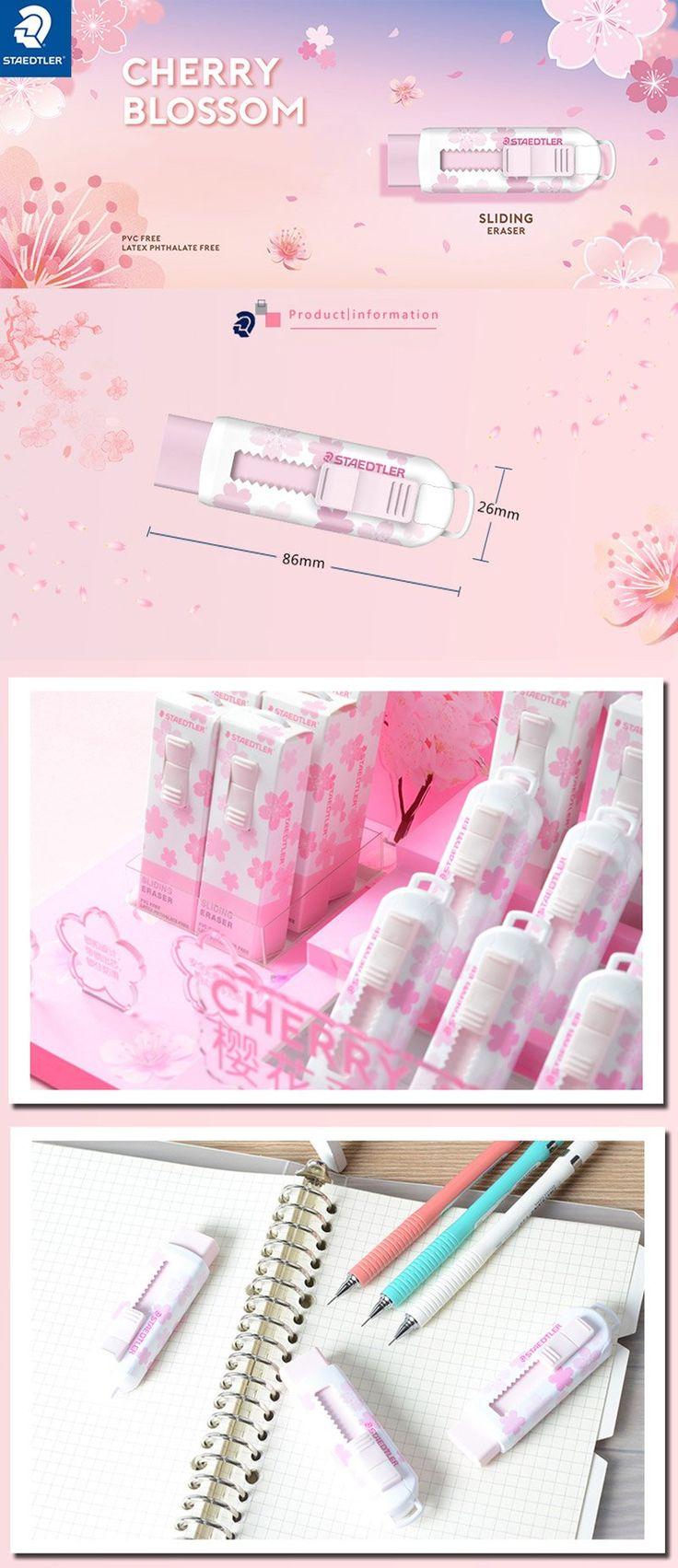 Sakura Pink (Limited) Staedtler Pastel Eraser with Sliding