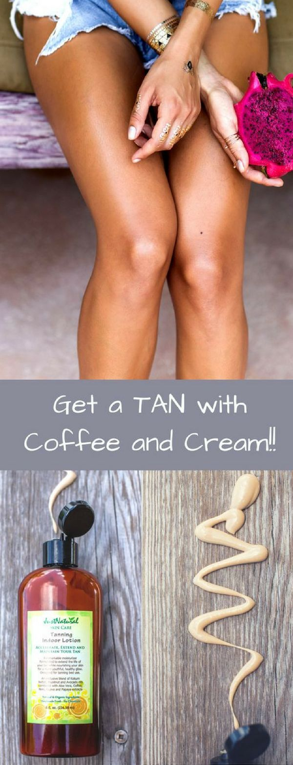 Let this lotion prepare and moisturize your skin for great tanning and contribute to holding your tan for weeks longer!