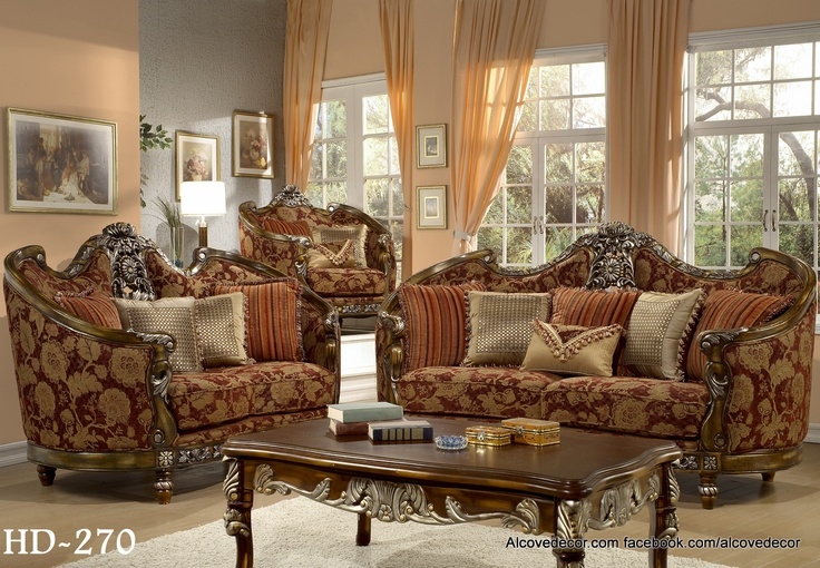 Homey Design Sofa Set HD270 Facebook.com/alcovedecor We Will Beat Any Price  · Luxury Living ...