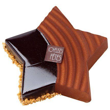 chocolat aristocratique | Entremets Etoile Aristocrate - Monoprix Gourmet - Marie Claire Maison