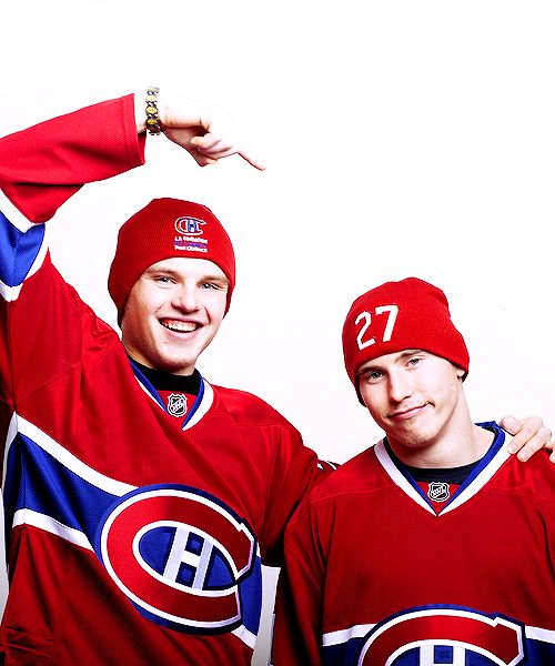 Brendan Gallagher and Alex Galchenyuk, Montreal Canadiens