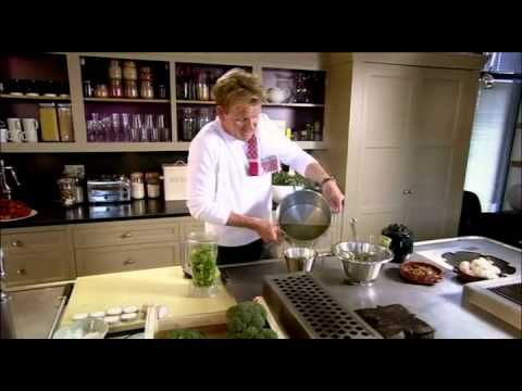Gordon Ramsay cooking a simple and easily prepared, using common ingredients - the perfect meal.  MORE GORDON RAMSAY RECIPES HERE:  Crispy Salmon (HD): http://youtu.be/0cAFkYm3u1Q  Sublime Scrambled Eggs (HD): http://youtu.be/HKWsOLR4wOE  Broccoli Soup (HD): http://youtu.be/2KR44a_5v_A  Salt Baked Pineapple (HD): http://youtu.be/Tzj_WmjgLOw  Stuffed S...
