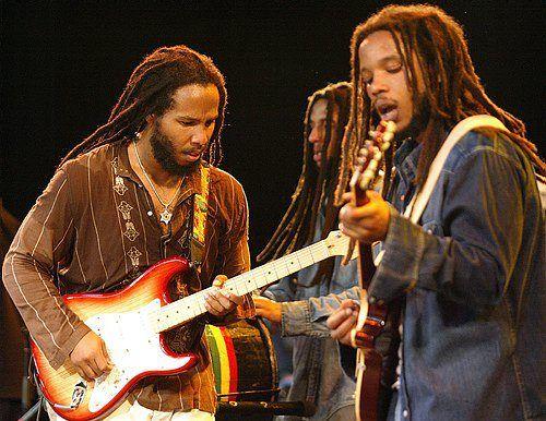 Stephen Marley and Ziggy Marley