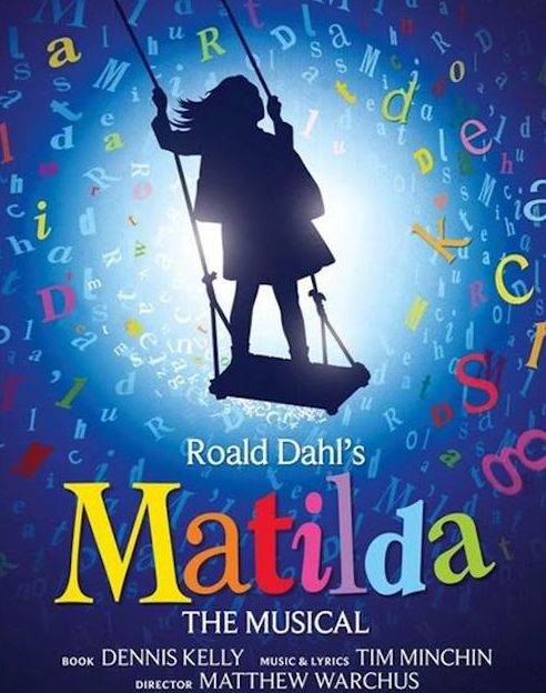 Matilda: The Musical. Currently running in the West End in the United Kingdom and on Broadway in the United States, with upcoming national tours in the US and Australia.