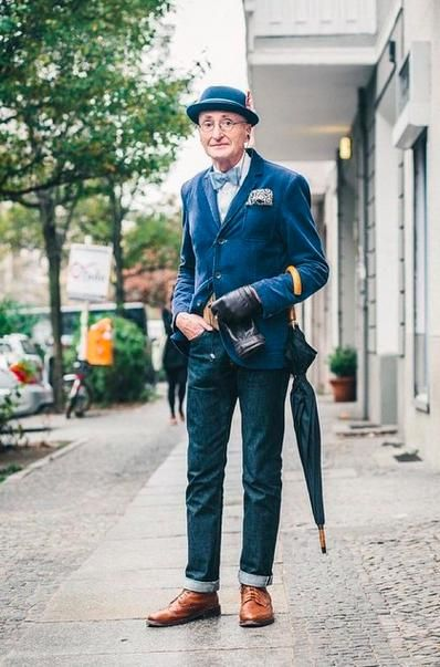 This man is 104 years old and still as stylish as ever