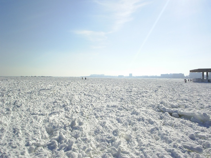 Black Sea frozen!